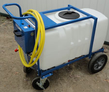 Watercart 50 gallon for Portable watering tanks for gardens